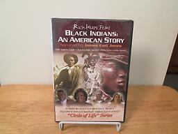 Black Indians: an American Story Multi-award winning 60-minute DVD Black Indians brings to light a forgotten part of America's past, the cultural and racial fusion of Native and African Americans. Narrated by James Earl Jones.
