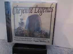 Cheyenne Legends Eugene Blackbear Sr. tells the story of Sweet Medicine and the Legend of Devil's Tower in both English and Cheyenne. Close your eyes and be transported. Shipping included in price.