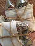 """The Mystics Touch~ """"Serenity"""" Bath Tea - Old World recipe ~ The teabags are filled with the most relaxing herbs, and oils - made to """"clean"""" the negativity and the ickiness away while re-booting you with the relaxing scent."""