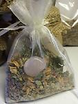 The Mystics Touch LOVE Sachet - LOVE/RELATIONSHIPS ( including self love/Healing) - Sachet - Made with intentions - Gramma's recipe..and each come with the correlating Crystal.