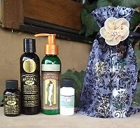 13, Julietta's Natural 4 pc. Travel & Home Gift Set Travel with your favorite Natural Olive Oil Body Products with the 1 oz. size and keep your 4 oz. bottle at home. The perfect Gift Set for any occasion, Packaged in a Beautiful Sheer Gift Bag