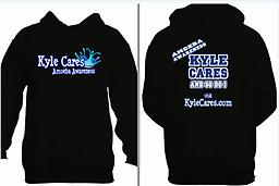 Kyle Cares Hoodie Casual, cozy and comfortable awareness hoodies are here!