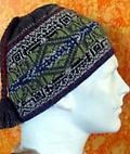 Alpaca Celtic Hat - This lined 50% alpaca/50% acrylic Celtic Braid Hat