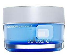 Cellusana Revitalization Night Cream This nourishing night cream fortifies skin function, boosts nutrient levels and helps support collagen production for youthful firmness. (50ml)