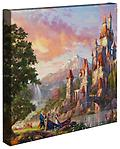 Beauty and the Beast II - Thomas Kinkade Gallery Wrap - The second in the series of Beauty and the Beast by Thomas Kinkade - a canvas 14 x 14