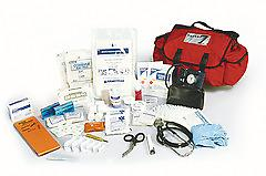 First Call Kit The First Call kit is designed for first responders on the scene. treat injuries fast with bandages,dressings,equipment and supplies. Comes complete in a saver first responder bag.