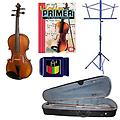 Acoustic Electric Violin Pack - 1/16 Size Violin w/Pickup, Music Stand, Book & Tuner - Acoustic Electric Violin Pack includes 1/16 Size Violin w/Pickup, Music Stand, Violin Primer Book & Snark SN-1 Tuner.