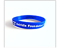 "AFI ""Fighting Blindness"" Support Wristband (Individual) - These support wristbands help spread awareness of Aniridia Foundation International's mission to help those with Aniridia Syndrome."