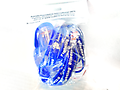 """AFI """"Fighting Blindness"""" Support Wristbands (10 Pack) - These support wristbands help spread awareness of Aniridia Foundation International's mission to help those with Aniridia Syndrome. Great for fundraisers -order several or call us for large orders. ."""