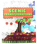 Scenic Transformations Coloring Book - Scenic Transformations Coloring Book has a variety of beautiful and intricate scenes to color and relax.