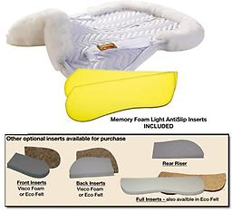 "FLEECEWORKS ""HALF PAD "" CLASSIC WITH ROLLED EDGE Get Real! Genuine Sheepskin. Your Vital protective layer."