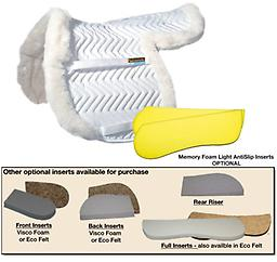 "FLEECEWORKS ""SHOW HUNTER PAD"" Get Real ! Genuine sheepskin - Your vital Protective Layer"