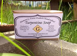 Turpentine Soap Approximately 4.5 oz bar of handcrafted Turpentine Soap ($1.99 shipping via USPS First Class Package)