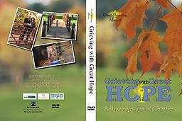 Grieving with Great Hope DVD SERIES Comes complete with five DVDs, a Leader-Guide Book, Workbook and a flash drive of other materials needed to host a Grieving with Great Hope workshop.