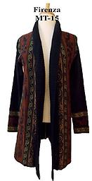 Alpaca Aztec Fire Tunic Solid gold in this design of eye-catching color in soft alpaca.