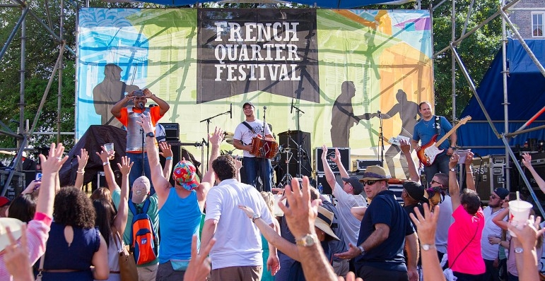 French Quarter Festival 2020.The French Quarter Fest Anesthesia Update 2020