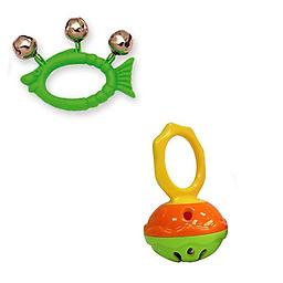 Hohner Mini Cage Bell Deluxe w/Hohner Kids Green Fish Animal Jingle Bells Hohner Mini Cage Bell Deluxe w/Package includes Hohner Kids Green Fish Animal Jingle Bells.