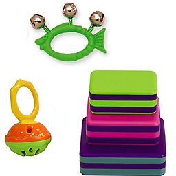 Hohner Mini Cage Bell Deluxe w/Green Fish Jingle Bell & LP Percussion 3 Piece Box Shakers Rhythm & F Hohner Mini Cage Bell Deluxe w/Green Fish Jingle Bell & LP Percussion 3 Piece Box Shakers Rhythm & Fine Motor Skills Toy.