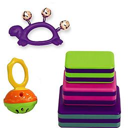 Hohner Mini Cage Bell Deluxe w/Purple Turtle Jingle Bell & LP Percussion 3 Piece Box Shakers Rhythm Hohner Mini Cage Bell Deluxe w/Purple Turtle Jingle Bell & LP Percussion 3 Piece Box Shakers Rhythm & Fine Motor Skills Toy.