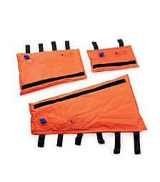 Ferno Vacuum Splints Ferno Vacuum Splints provide the best possible support with the least amount of effort. Durable, vinyl-coated nylon is easily conformed to an injured extremity as the evacuation pump extracts air