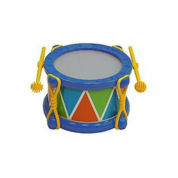 Baby Drum Musical Toy - Fine/Gross Motor Skills Toy Package includes blue baby drum.