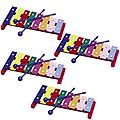 Pre-School & Day Care Supplies- Music Class Pack 4 Toddler 8 Note Glockenspiels - Package includes 4 Hohner xylophones.