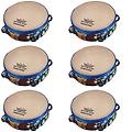 Pre-School & Day Care Supplies - Music Class Pack 6 Rhythm Club Tambourines - Package includes 6 pack of Rhythm Club Tambourines.