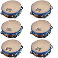 Premium Quality Party Favors 6 Pack of Rhythm Club Children's Tambourines - Package includes 6 pack of Rhythm Club Tambourines.