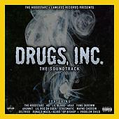 Drugs Bay Area Hip-Hop Edition Tee & CD pack This pack includes one tee, white or black, with Drugs Inc. Soundtrack.