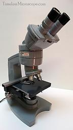 American Optical Series 50 Binocular Microscope I have about 10 of these, this is the younger brother of the AO 10 and was designed for medical school use. The ones I have came from the medical college of Virginia and they come with 10x wide field