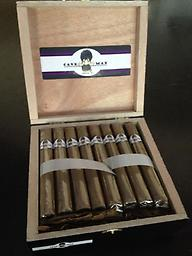 Private label box of cigars (25 per box) 1-3 Boxes Impress your clients and friends with a personalized box of handcrafted freshly made cigars. Each box is made to order with only the finest tobacco available.