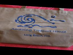 Amazing Treasure House Woven Shopping Bag Amazing Treasure House Shopping bag that many guest may have received with their stay. Need more?