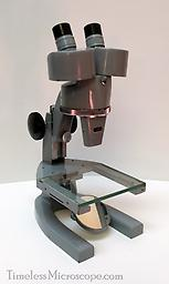 AO Spencer Stereo Microscope Robust, dependable and built like a Sherman tank. Weighing 11lbs, this microscope is the epitome of what this country once made. The trans illuminated base with its mirror is incredibly useful for...