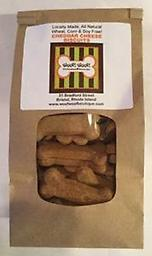 All Natural Biscuit Bar Biscuits-Cheddar Cheese 1 lb Our biscuit bar biscuits are now available for online ordering. Choose your dogs favorite variety or pick a mixed pound for them to enjoy when you can't visit us. Locally made, wheat, corn & soy FREE!