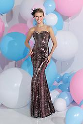 Sequin Animal Print Sparkle Prom 71133 The fabric in this Sparkle prom dress style 71133 is Print Sequins