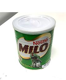 Milo sm. Chocolate drink mix. Hot or cold