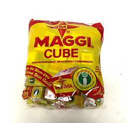 Maggi Cubes Single wrapped cubes for stew or soup flavoring.