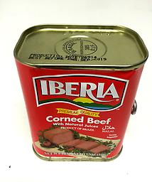 Corned Beef Iberia corned beef with natural juices. 12OZ