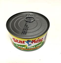 Starkist Tuna with pepper Tuna flakes in sunflower oil with pepper