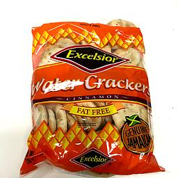 Excelsior Cinnimon Water Crackers Fat Free genuine Jamaican Water Crackers