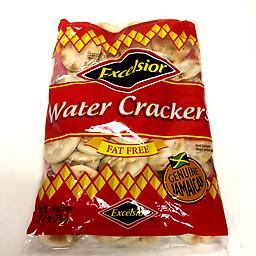 Excelsior Original water crackers Fat free genuine Jamaican water crackers