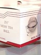 "2 1/2"" Stainless Steel Mesh Tea Ball 2 1/2"" Stainless Steel Mesh Tea Ball"