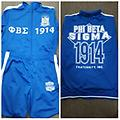 Sigma Jogging Suit - Blue and white sigma fully loaded jogging suit