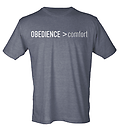 OBEDIENCE > comfort T-Shirt - Soft grey OBEDIENCE > comfort T-Shirt