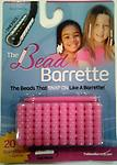 Pink Bead Barrette 1 Pack - 1 Package of pink Bead Barrettes. Reg. Package includes 20 barrettes (the equivalent of 140 beads!) and one barrette opener.