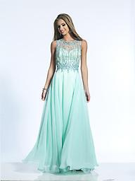 Aqua Dave and Johnny 2014W Lavish and elegant, this fairytale evening dress from Dave and Johnny 2014 is a dream come true. The illusion jewel neckline bodice has a sweetheart lining and features twinkling strands.