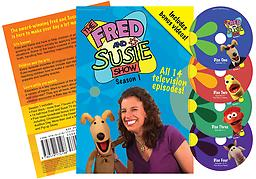 01 The Fred and Susie Show: TV season 1 Fred and Susie are here to help children of all ages learn to cope with growing up in today's society by applying Biblical values to common situations, and have lot of fun along the way!