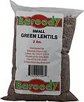 BAROODY Small Green Lentils - BAROODY Small Green Lentils 2Lbs bag