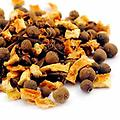 The Mystics Kitchen Organic Spices & Blends~ Mulled Cider - Organic~ A fantastic blend of dreidn orange peel, allspice, cinnamon chips, clove and dried ginger. This combination is great warmed up, in addition to your mead recipe or simply simmer in your potpou