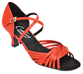 Comfort Ladies Psychedelic Sandals - Elegant design, perfect for WCS or ballroom.